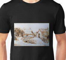 Vincent van Gogh Two Cottages at Saintes-Marie-de-la-Mer Unisex T-Shirt