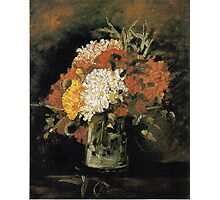 Vincent van Gogh Vase of Carnations Photographic Print