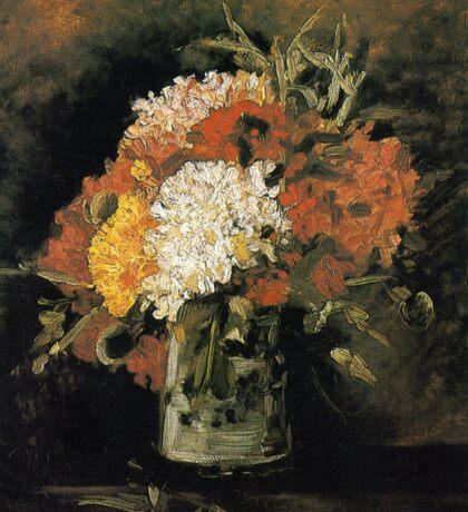 Vincent van Gogh Vase of Carnations Sticker