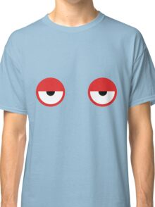Don't Hug Me I'm Scared Red Guy Eyes Classic T-Shirt