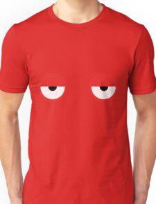 Don't Hug Me I'm Scared Red Guy Eyes Unisex T-Shirt
