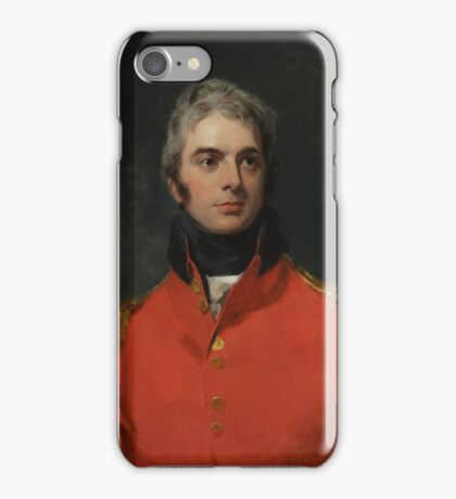Sir Thomas Lawrence, portrait of a man iPhone Case/Skin