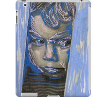 Little boy illustration iPad Case/Skin