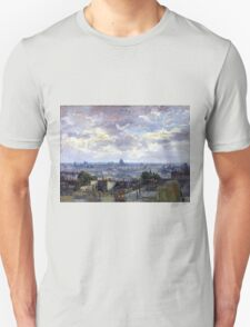 Vincent van Gogh View of Paris Unisex T-Shirt