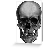 Skull For Horror Fans and Goths Greeting Card