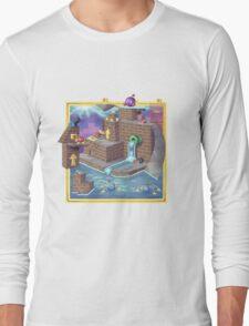 Super Mario 64 Wet Dry World Long Sleeve T-Shirt