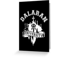 Dalaran University Greeting Card