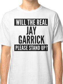 Will The Real Jay Garrick Please Stand Up? Classic T-Shirt