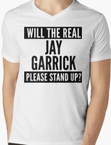 Will The Real Jay Garrick Please Stand Up? Mens V-Neck T-Shirt