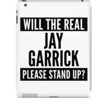 Will The Real Jay Garrick Please Stand Up? iPad Case/Skin