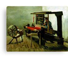 Vincent van Gogh Weaver Canvas Print