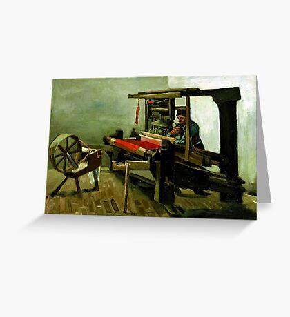 Vincent van Gogh Weaver Greeting Card