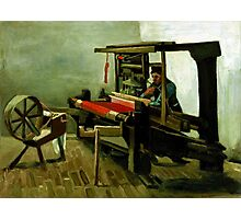 Vincent van Gogh Weaver Photographic Print