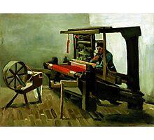 Vincent van Gogh Weaver Photographic Print