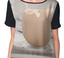 Theres more than one sort of eggcup Chiffon Top