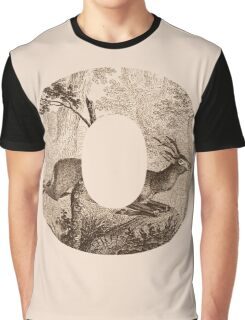 O Deer Graphic T-Shirt