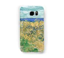 Vincent van Gogh Wheatfield with Cornflowers Samsung Galaxy Case/Skin