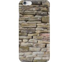 An Uneven Rock/Stone/Brick Wall iPhone Case/Skin