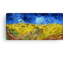 Vincent van Gogh Wheatfield with Crows Canvas Print