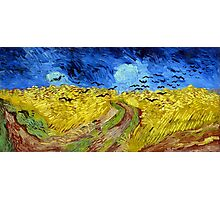 Vincent van Gogh Wheatfield with Crows Photographic Print