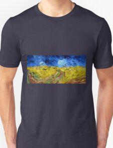 Vincent van Gogh Wheatfield with Crows Unisex T-Shirt