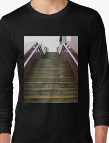 A Set Of Marble Stairs Long Sleeve T-Shirt