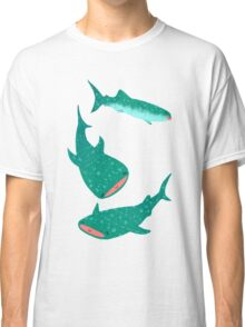Teal Whale Shark Classic T-Shirt