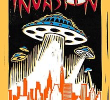 INVASION - New York skyline by wonder-webb