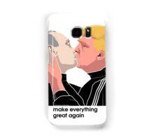 Trump kissing Putin Samsung Galaxy Case/Skin