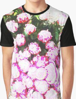 Peony Paradise Graphic T-Shirt