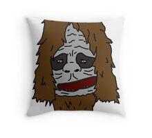 Sassy the Sasquatch - Colour Throw Pillow