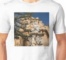 Noto Sicilian Baroque - Church of San Domenico on a Bright Sunny Day Unisex T-Shirt