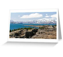 Thingvallavatn Greeting Card