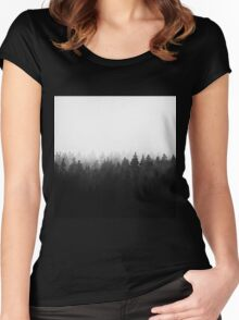 A Wilderness Somewhere Women's Fitted Scoop T-Shirt