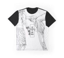 [Monochrome] Karate Shoukoushi  Graphic T-Shirt