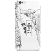 [Monochrome] Karate Shoukoushi  iPhone Case/Skin