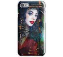 beauty in red iPhone Case/Skin