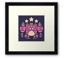 Kirby Bot Framed Print