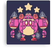 Kirby Bot Canvas Print