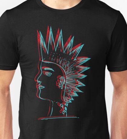 Punk in 3D Unisex T-Shirt