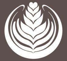 Latte Art Tulip One Piece - Short Sleeve