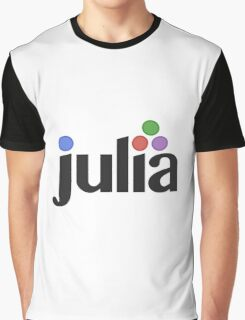 Julia programming language Graphic T-Shirt