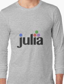 Julia programming language Long Sleeve T-Shirt