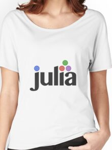 Julia programming language Women's Relaxed Fit T-Shirt