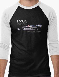 BRABHAM 1983 NELSON PIQUET Men's Baseball ¾ T-Shirt