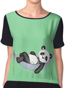 iPod Panda Chiffon Top
