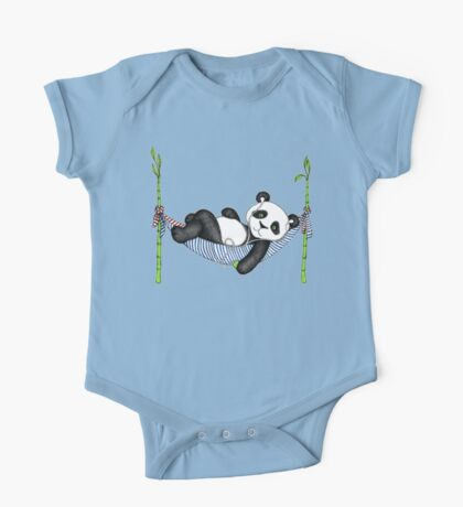 iPod Panda One Piece - Short Sleeve