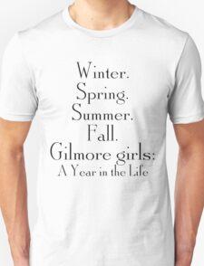 Seasons of Gilmore Girls T-Shirt