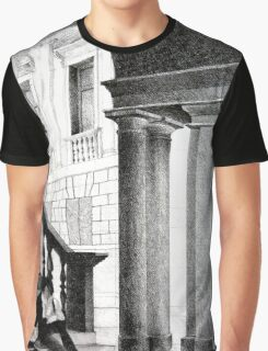 Vicenza, 2011, 50-70cm, graphite crayon on paper Graphic T-Shirt