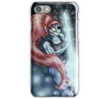 Undyne of the Royal Guard iPhone Case/Skin